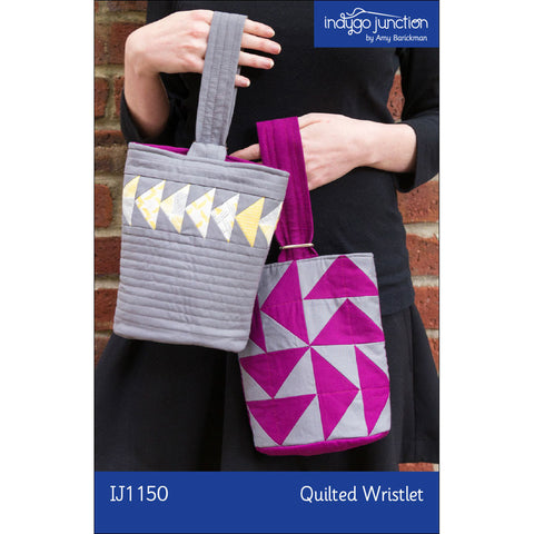 Flying Geese Quilted Wristlet Pattern
