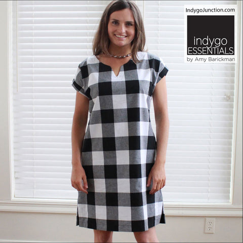 Indygo Essentials - Shift Dress Pattern