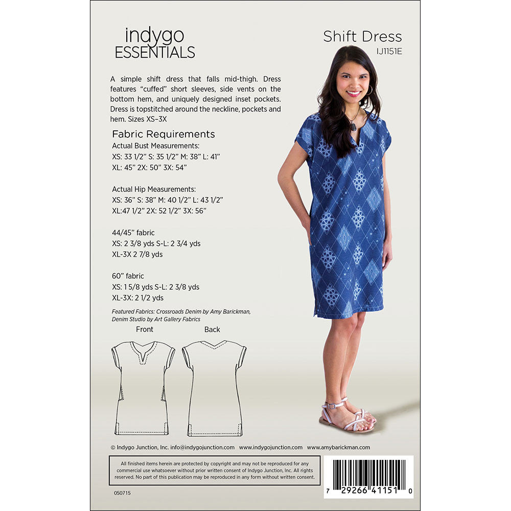 4f549857fa8 Shift Dress by Indygo Essentials – IndygoJunction