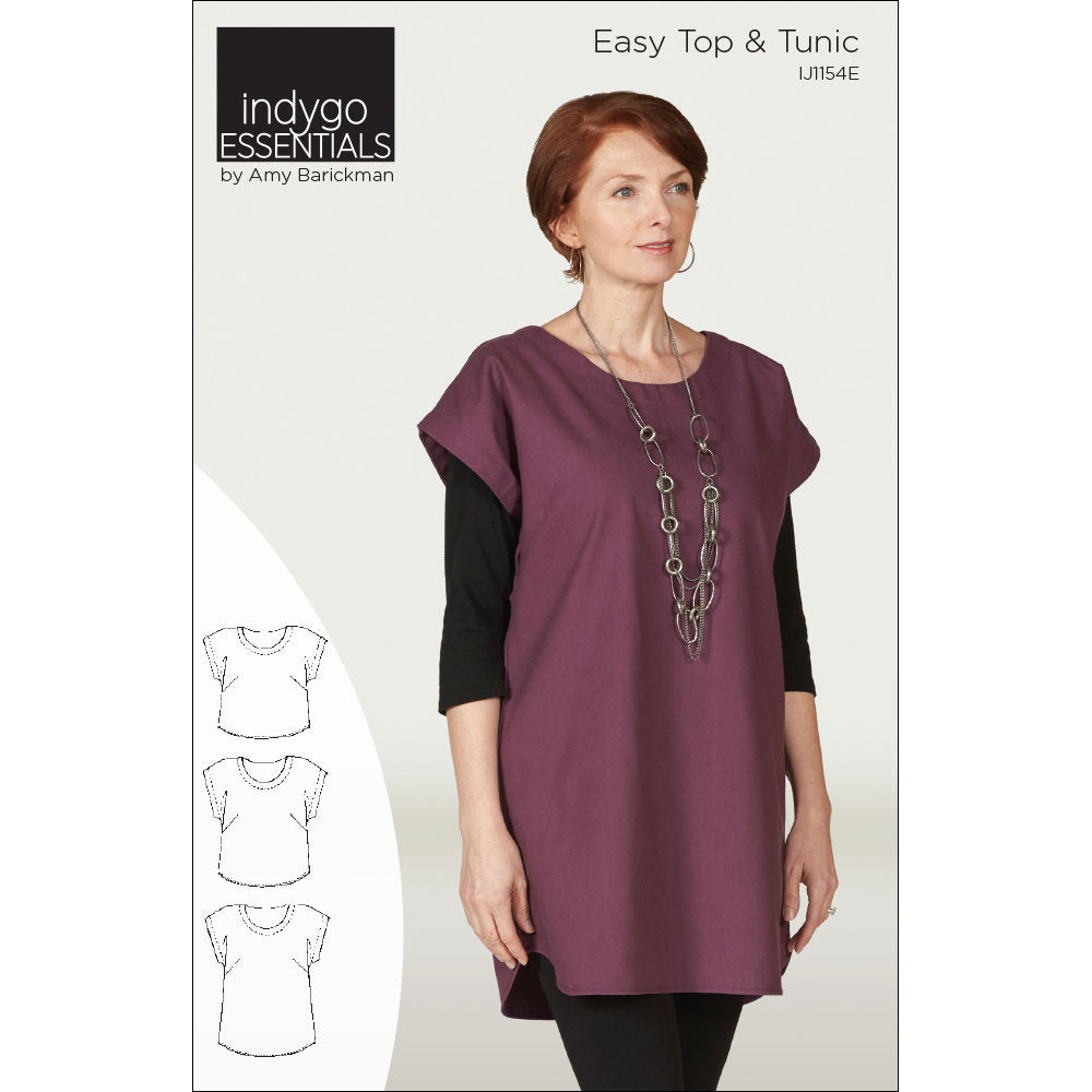 Indygo Essentials - Easy Top & Tunic Pattern