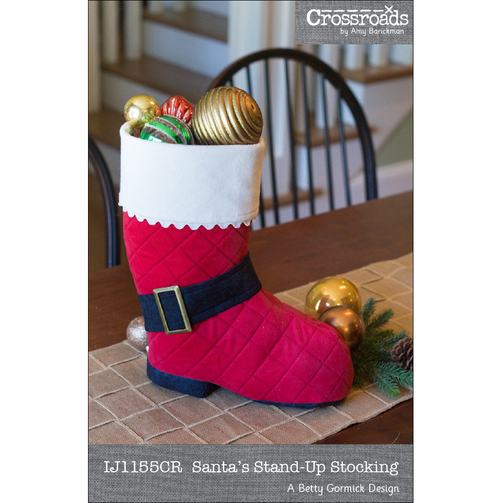 f202cfee107 Santas Stand-Up Stocking by Indygo Junction – IndygoJunction