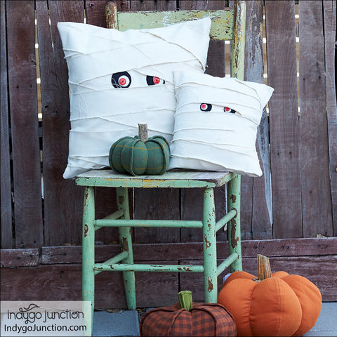 I Love My Mummy Halloween Decor PDF Pattern
