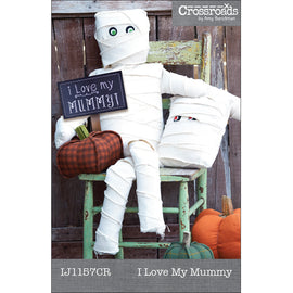 I Love My Mummy Halloween Decor Pattern