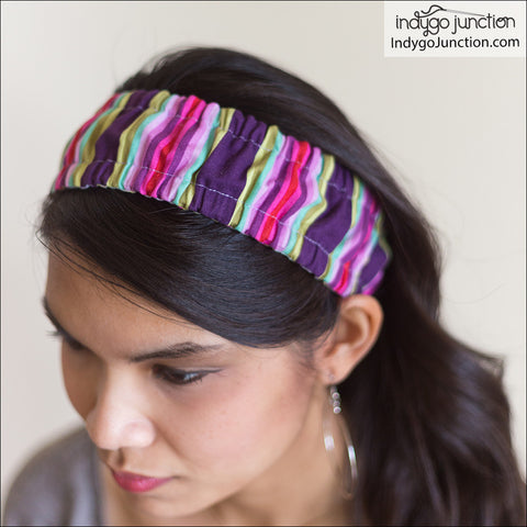 Banded Beauty Headband Trio Pattern