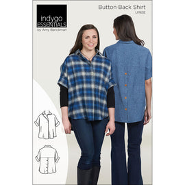 Indygo Essentials: Button Back Shirt
