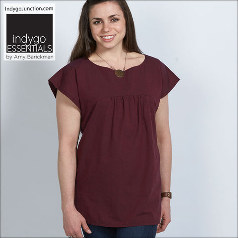 Slight Sleeve Top & Tunic