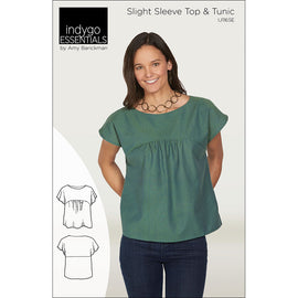 Indygo Essentials: Slight Sleeve Top & Tunic