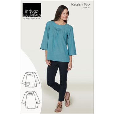 Indygo Essentials: Raglan Top