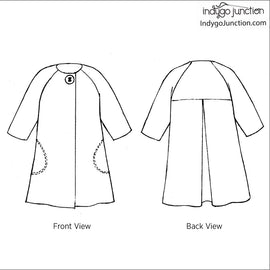 Sophia Swing Coat Pattern