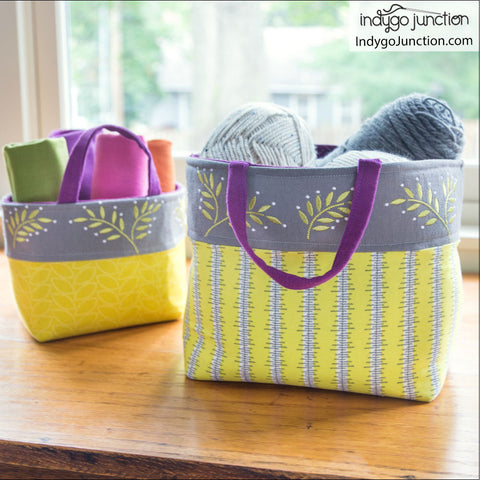 Banded Baskets Pattern