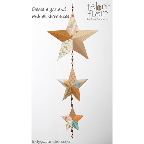Tree Topper & Ornament Fabriflair Pattern