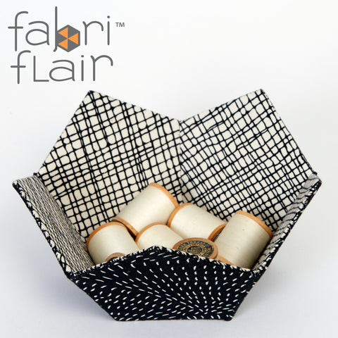 Faceted Spheres & Bowl Fabriflair Pattern