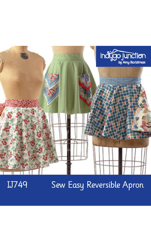 Sew Easy Reversible Apron Digital PDF Pattern