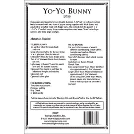 Yo-Yo Stuffed Bunny Pattern