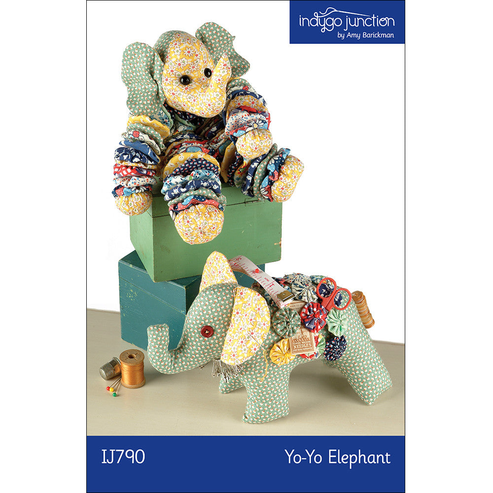 Yo-Yo Stuffed Elephant Pattern
