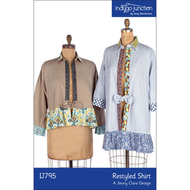 Restyled Shirts PDF Pattern