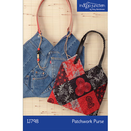 Patchwork Purse Digital PDF Pattern