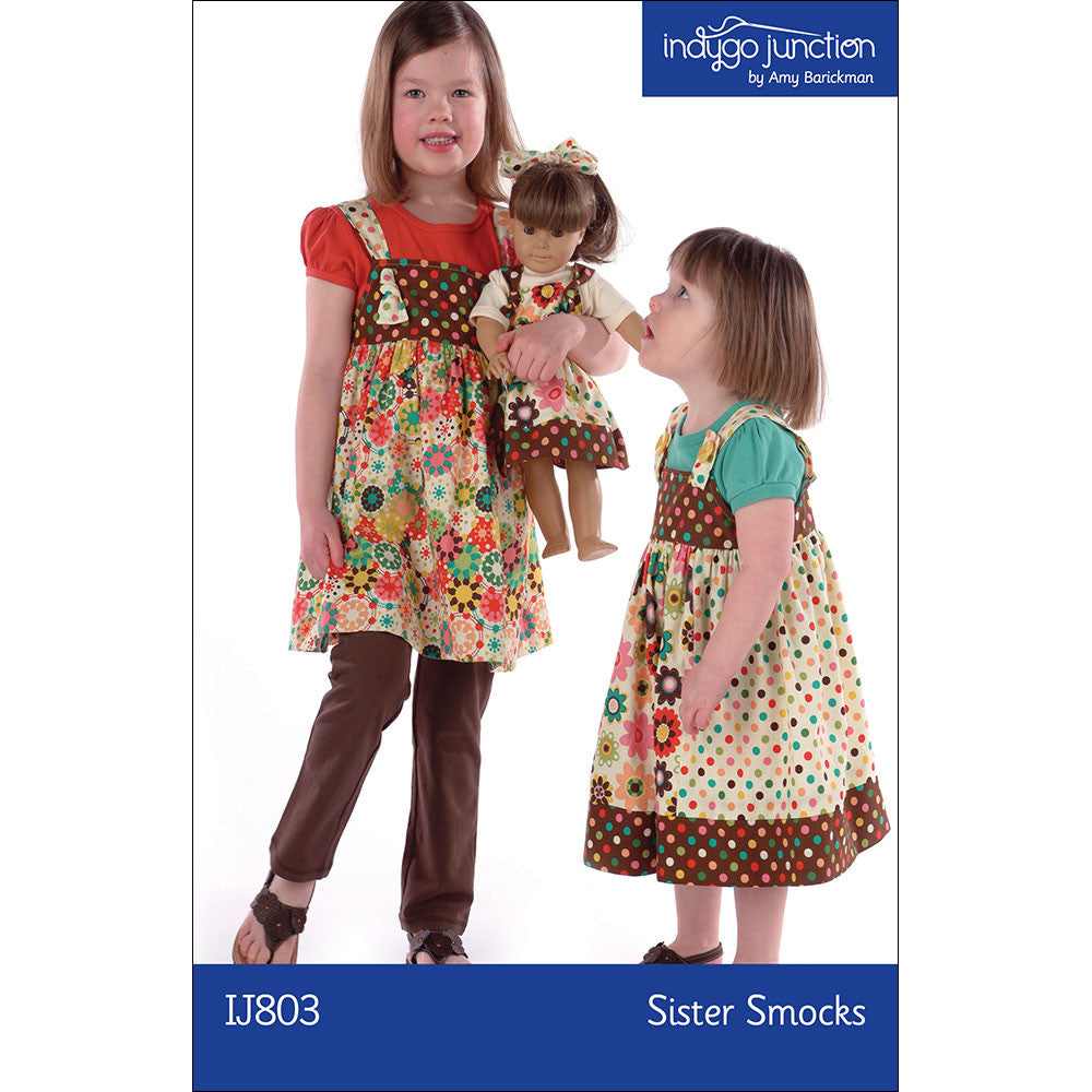 Sister Smocks Jumper PDF Pattern