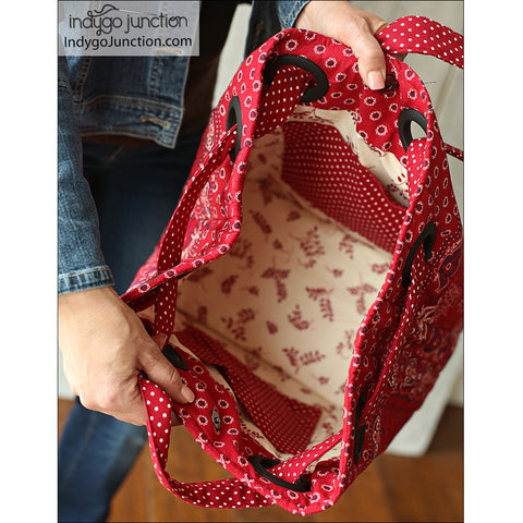 Grids & Grommets Purse Pattern