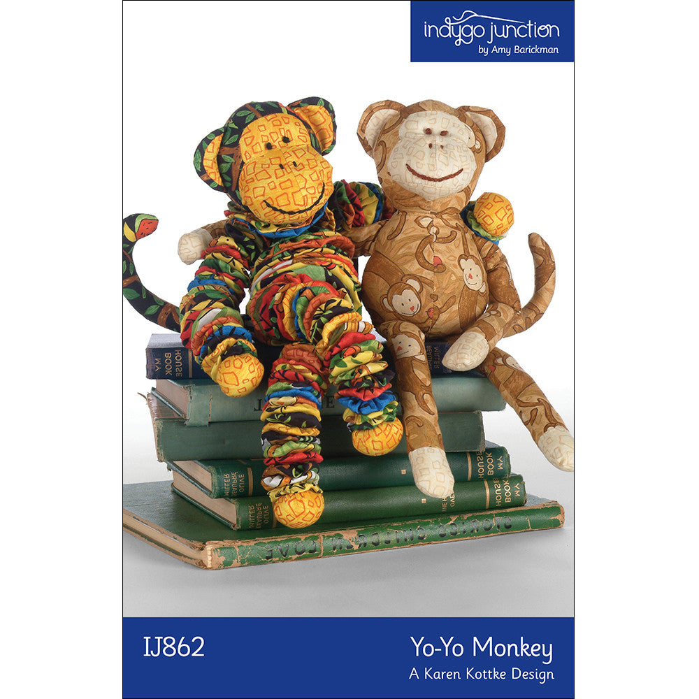Yo-Yo Stuffed Monkey Pattern