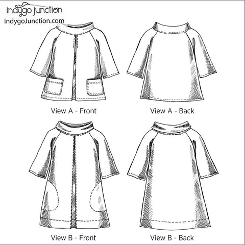 Mod Top & Tunic Pattern