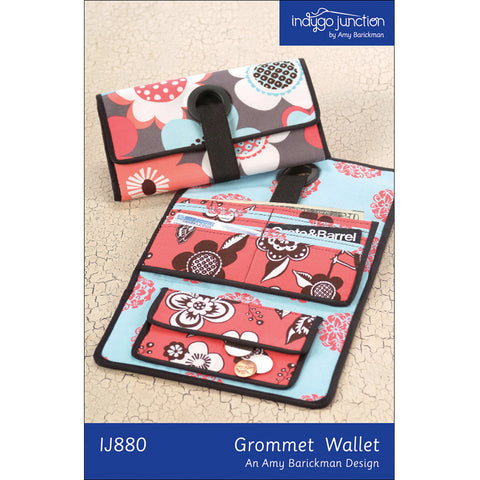 Grommet Wallet Digital PDF Pattern