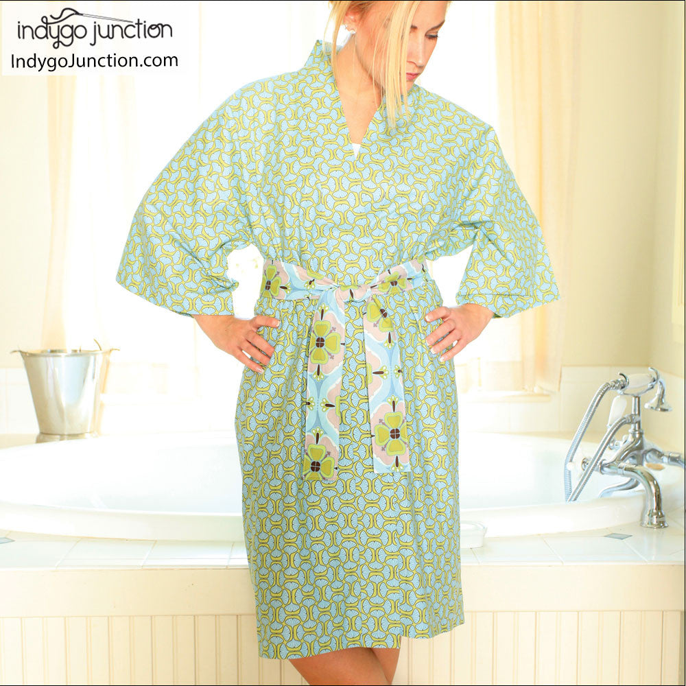 Klassic Kimono Robe Sewing Pattern From Indygo Junction