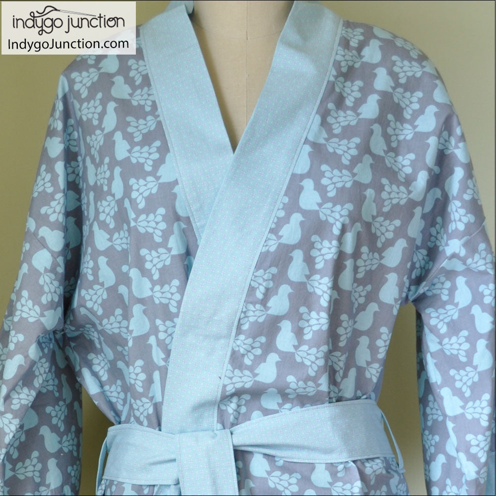 Robe: Klassic Kimono Robe Sewing Pattern From Indygo Junction