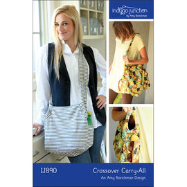 Crossover Carry-All Purse Digital PDF Pattern