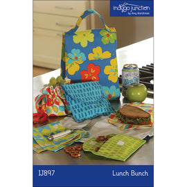 Lunch Bunch Sandwich & Bag Set PDF Pattern