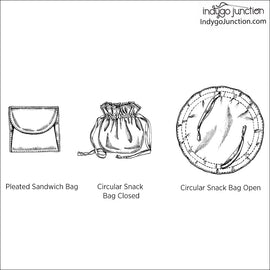 Lunch Bunch Sandwich & Bag Set Pattern