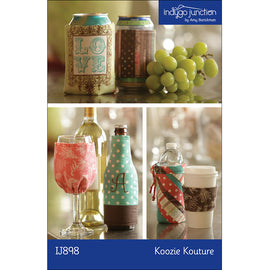 Koozie Kouture Bottle, Cup & Can Covers PDF Pattern