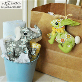 Miniature Menagerie Stuffed Animal PDF Pattern