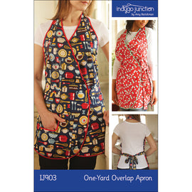 One-Yard Overlap Apron PDF Pattern
