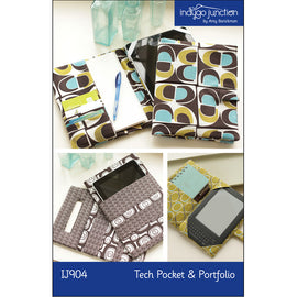 Tech Pocket & Portfolio Pattern