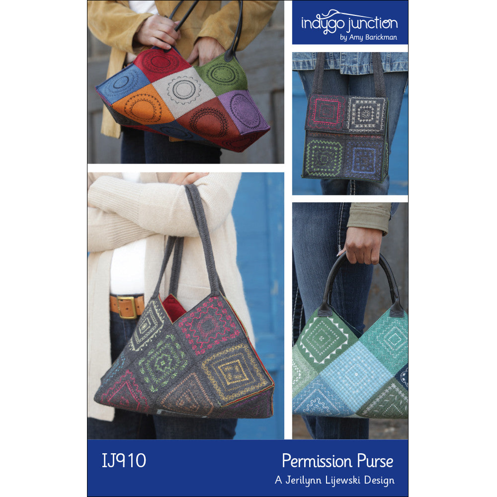 Permission Purse PDF Pattern