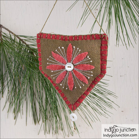 Hearth & Home Holiday Ornament PDF Pattern