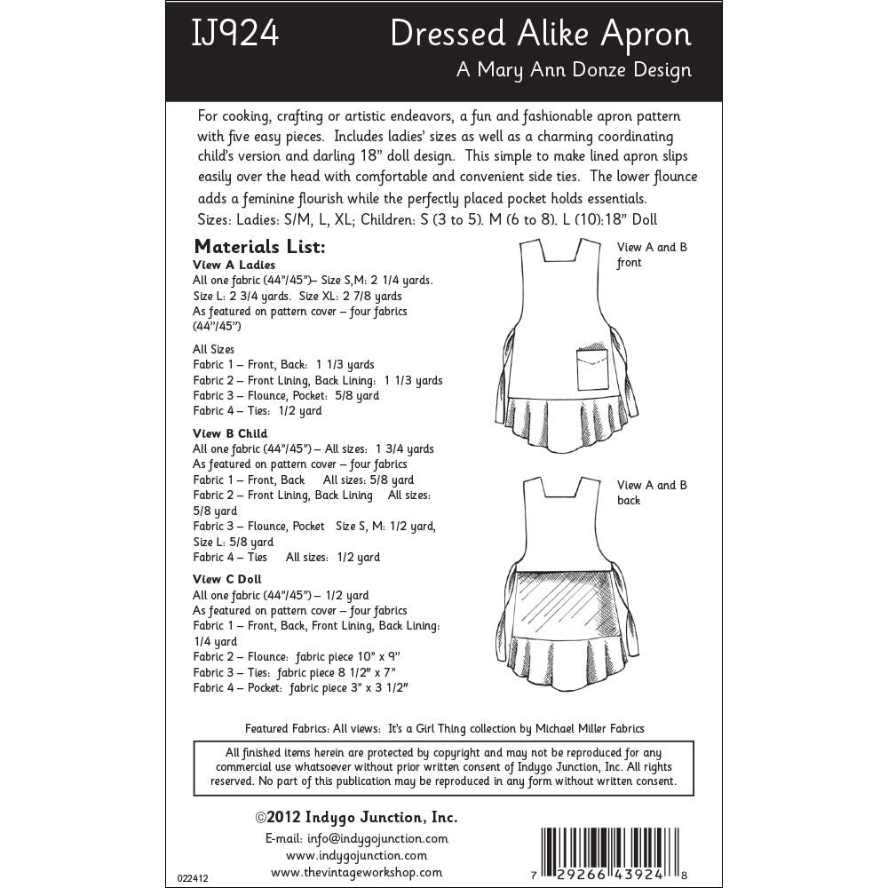 White apron inc