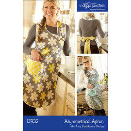 Asymmetrical Apron Digital PDF Pattern