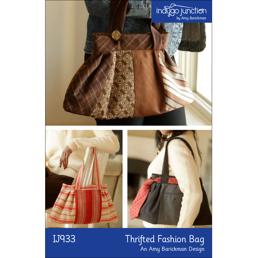 Thrifted Fashion Bag PDF Pattern