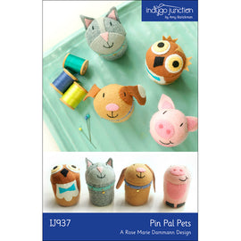 Pin Pals Animal Pets Pincushion Pattern