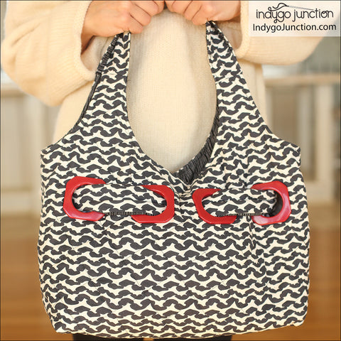 Grommet Go-Around Purse PDF Pattern