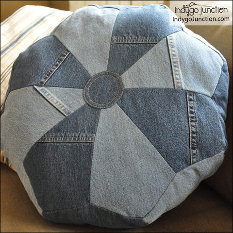 Dresden Pouf & Pillow Pattern