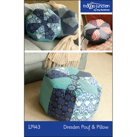 Dresden Pouf & Pillow PDF Pattern