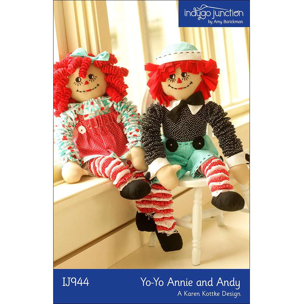 Yo-Yo Annie & Andy Doll PDF Pattern