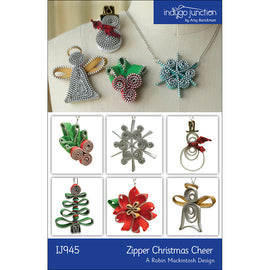 Zipper Christmas Cheer Pattern
