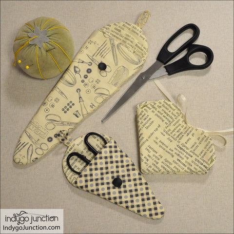 Love to Stitch Needle Case & Scissors Keeper Collection Pattern