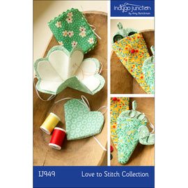 Love to Stitch Needle Case & Scissors Keeper Collection