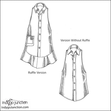 Kitchen Shirt Tales Recycled Apron Pattern