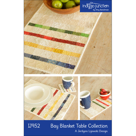 Bay Blanket Three Piece Quilted Table Collection
